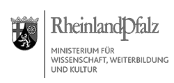 Logo: Ministerium für Wissenschaft, Weiterbildung und Kultur des Landes Rheinland-Pfalz