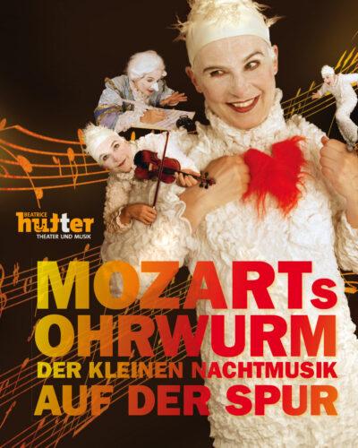 Plakat: Mozarts Ohrwurm